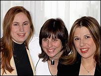 Judith, Sofía y Susan Polgar