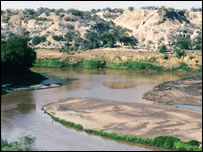 Omo river (Frank Brown, University of Utah)
