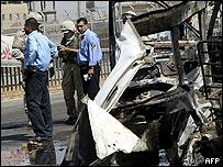 Baghdad minibus bombing