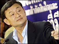 Prime Minister Thaksin Shinawatra