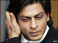 Bollywood star Shah Rukh Khan