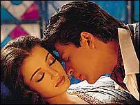 Shah Rukh Khan and Aishwarya Rai