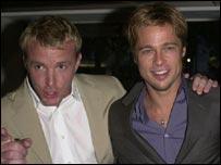 Ritchie with Brad Pitt, star of Snatch