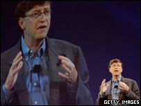 Bill Gates at the RSA Conference, Getty Images