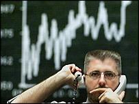 A share trader
