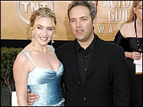 Sam Mendes and wife Kate Winslet