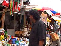 Guyana market scene
