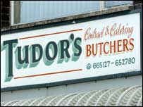 Tudor's in Bridgend, where an examination is taking place
