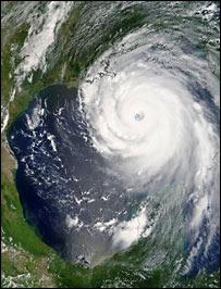Hurricane from space, Eumetsat