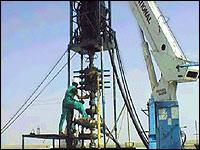 Oil facility in Turkmenistan