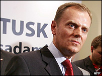 Civic Platform boss Donald Tusk