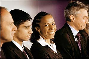 British Olympians Sir Steve Redgrave, Amir Khan, Kelly Holmes and Jonathan Edwards support the bid