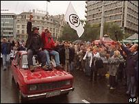 Grupos de la oposición en Serbia