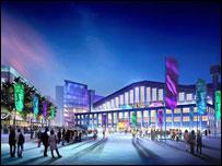 Artists impression of Wembley Arena