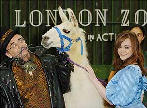 London Zoo launch pantomime