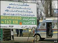 Bus in Kashmir