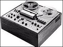 An early tape machine featuring Dolby technology