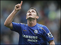 Frank Lampard, jugador de Chelsea