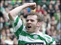 Craig Beattie scored a double for Celtic