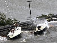 Boats at Lake Charles, Louisiana