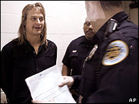 Kid Rock talks to police in night court in Nashville
