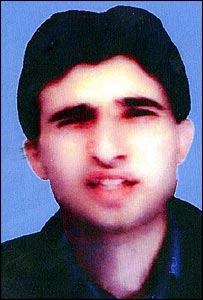 Passport photo of Guantanamo detainee Omar Deghayes
