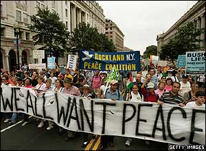 March down Washington's Pennsylvania Avenue