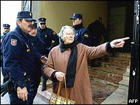 Police in Valencia