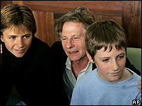 Harry Eden, Roman Polanski and Barney Clark