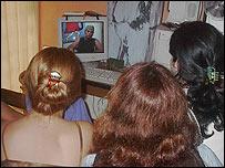 Video clandestino en Cuba.