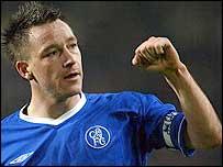 Chelsea's England defender John Terry