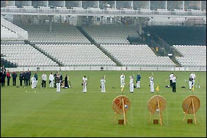 Archers show IOC inspectors the suitability of Lord's as an Olympic venue