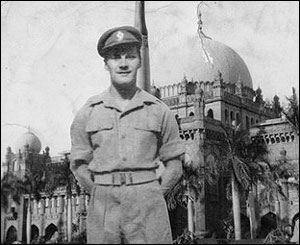 Tommy Robins, a serviceman in India