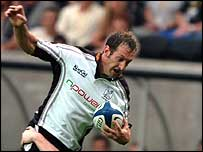Stefan Terblanche got the first try of the game