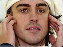 Fernando Alonso, campe�n mundial de F�rmula Uno