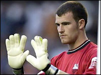 Preston keeper Andy Lonergan