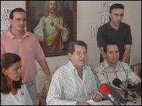 Conferencia de Prensa de Osvaldo Paya (Foto: Raquel P�rez)