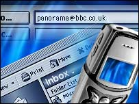 Panorama contact us graphic