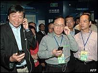 Hong Kong delegation at Guangdong industrial park