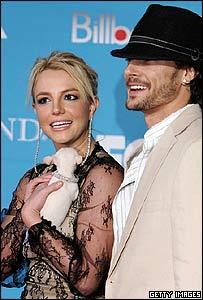 Britney Spears and husband Kevin Federline