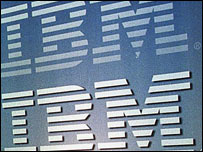 IBM logo, AFP/Getty