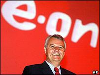 E.ON chief executive  Wulf Bernotat