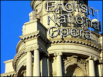 The English National Opera House building