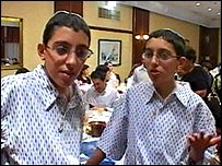 Ezra (left) and Adam (right)