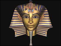 Funeral mask of a Pharaoh