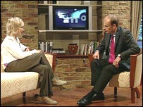 Andrew Marr and guest