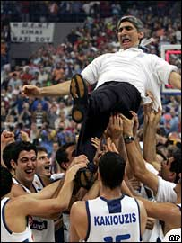 Greece coach Panayiotis Yannakis