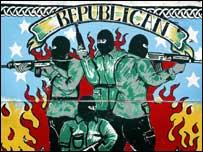 IRA mural