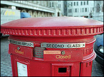 Closed post box