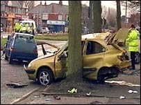 Beverley Road crash